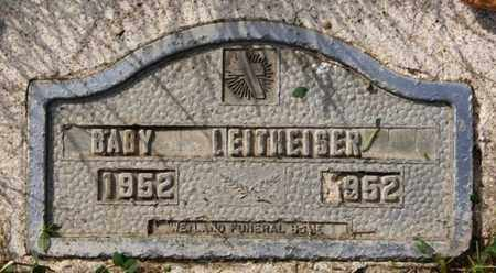 LEITHEISER, BABY - McCook County, South Dakota | BABY LEITHEISER - South Dakota Gravestone Photos