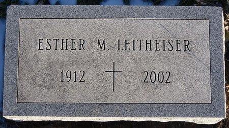 LEITHEISER, ESTHER M - McCook County, South Dakota   ESTHER M LEITHEISER - South Dakota Gravestone Photos