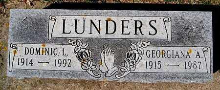 LUNDERS, DOMINIC L - McCook County, South Dakota | DOMINIC L LUNDERS - South Dakota Gravestone Photos