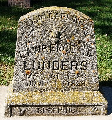 LUNDERS, LAWRENCE JR - McCook County, South Dakota | LAWRENCE JR LUNDERS - South Dakota Gravestone Photos