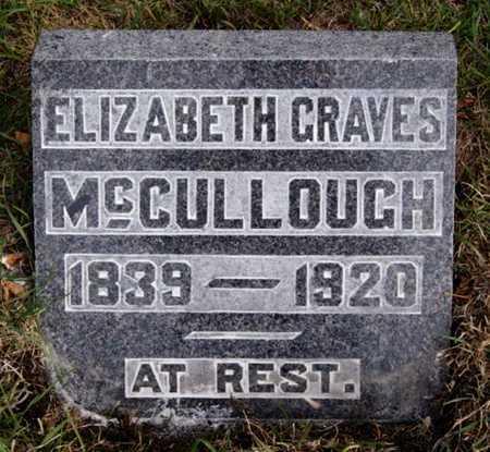 MCCULLOUGH, ELIZABETH - McCook County, South Dakota   ELIZABETH MCCULLOUGH - South Dakota Gravestone Photos