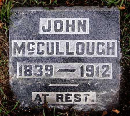 MCCULLOUGH, JOHN - McCook County, South Dakota | JOHN MCCULLOUGH - South Dakota Gravestone Photos