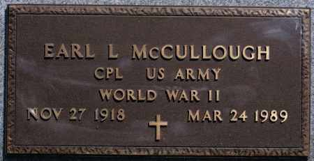 MCCULLOUGH, EARL L (WWII) - McCook County, South Dakota | EARL L (WWII) MCCULLOUGH - South Dakota Gravestone Photos