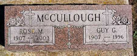 MCCULLOUGH, GUY G - McCook County, South Dakota | GUY G MCCULLOUGH - South Dakota Gravestone Photos