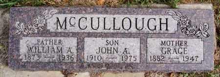 MCCULLOUGH, GRACE - McCook County, South Dakota   GRACE MCCULLOUGH - South Dakota Gravestone Photos