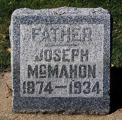 MCMAHON, JOSEPH - McCook County, South Dakota | JOSEPH MCMAHON - South Dakota Gravestone Photos