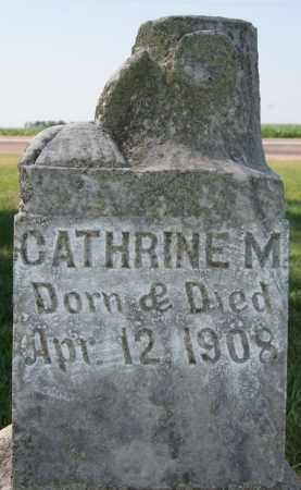 MELROY, CATHRINE M - McCook County, South Dakota   CATHRINE M MELROY - South Dakota Gravestone Photos