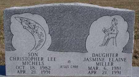 MILLER, JASMINE ELAINE - McCook County, South Dakota | JASMINE ELAINE MILLER - South Dakota Gravestone Photos