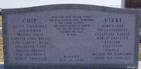 MOODY REAR VIEW, ROBERT, VIKKI - McCook County, South Dakota   ROBERT, VIKKI MOODY REAR VIEW - South Dakota Gravestone Photos