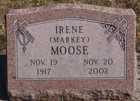 MARKEY MOOSE, IRENE - McCook County, South Dakota | IRENE MARKEY MOOSE - South Dakota Gravestone Photos