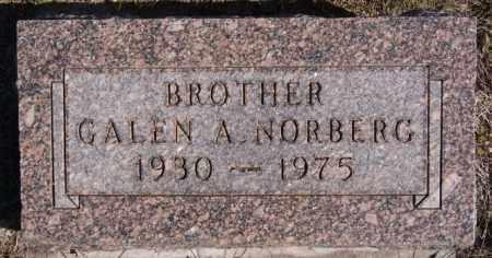 NORBERG, GALEN A - McCook County, South Dakota   GALEN A NORBERG - South Dakota Gravestone Photos