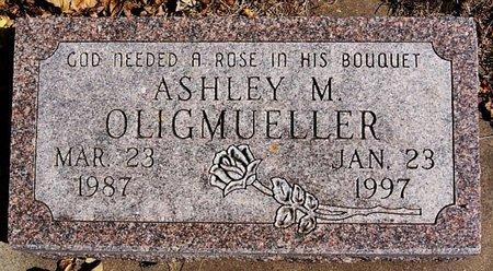 OLIGMUELLER, ASHLEY M - McCook County, South Dakota | ASHLEY M OLIGMUELLER - South Dakota Gravestone Photos
