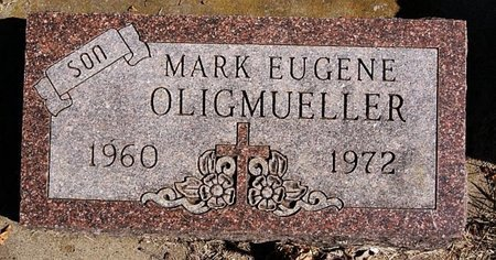 OLIGMUELLER, MARK EUGENE - McCook County, South Dakota | MARK EUGENE OLIGMUELLER - South Dakota Gravestone Photos