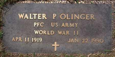 OLINGER, WALTER P (WWII) - McCook County, South Dakota | WALTER P (WWII) OLINGER - South Dakota Gravestone Photos