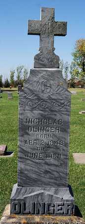 OLINGER, NICHOLAS - McCook County, South Dakota | NICHOLAS OLINGER - South Dakota Gravestone Photos
