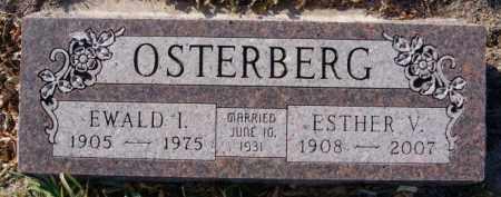 OSTERBERG, EWALD I - McCook County, South Dakota   EWALD I OSTERBERG - South Dakota Gravestone Photos
