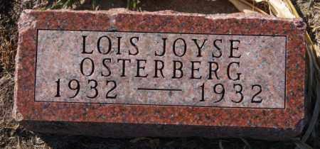 OSTERBERG, LOIS JOYSE - McCook County, South Dakota   LOIS JOYSE OSTERBERG - South Dakota Gravestone Photos