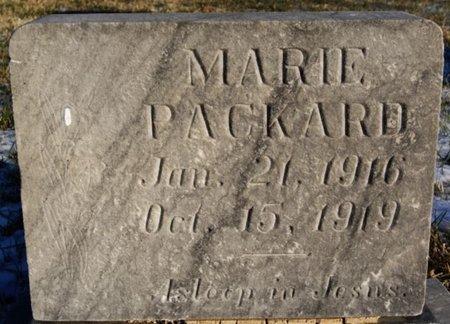 PACKARD, MARIE - McCook County, South Dakota | MARIE PACKARD - South Dakota Gravestone Photos