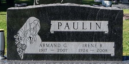 PAULIN, ARMAND G - McCook County, South Dakota | ARMAND G PAULIN - South Dakota Gravestone Photos