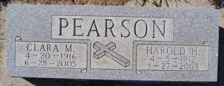 PEARSON, CLARA M - McCook County, South Dakota | CLARA M PEARSON - South Dakota Gravestone Photos