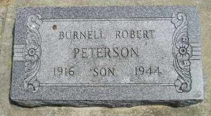 PETERSON, BURNELL ROBERT - McCook County, South Dakota | BURNELL ROBERT PETERSON - South Dakota Gravestone Photos