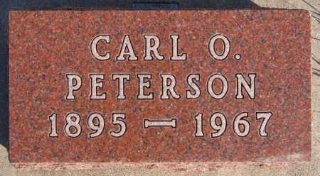 PETERSON, CARL O - McCook County, South Dakota   CARL O PETERSON - South Dakota Gravestone Photos