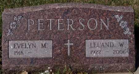 PETERSON, EVELYN M - McCook County, South Dakota | EVELYN M PETERSON - South Dakota Gravestone Photos