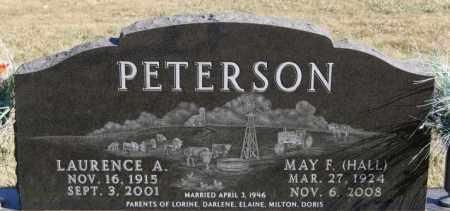 PETERSON, LAURENCE A - McCook County, South Dakota | LAURENCE A PETERSON - South Dakota Gravestone Photos