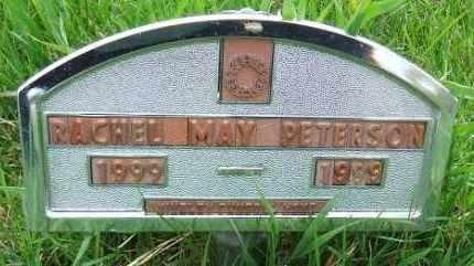 PETERSON, RACHEL MAY - McCook County, South Dakota | RACHEL MAY PETERSON - South Dakota Gravestone Photos
