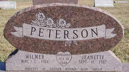 PETERSON, JEANETTE - McCook County, South Dakota | JEANETTE PETERSON - South Dakota Gravestone Photos