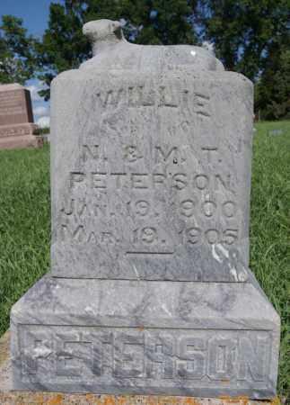 PETERSON, WILLIE - McCook County, South Dakota   WILLIE PETERSON - South Dakota Gravestone Photos