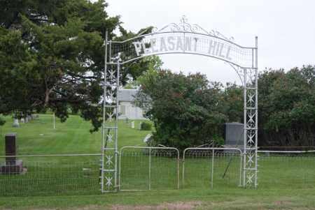 *PLEASANT HILL, CEMETERY GATE - McCook County, South Dakota | CEMETERY GATE *PLEASANT HILL - South Dakota Gravestone Photos