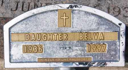 PROUTY, BELVA - McCook County, South Dakota | BELVA PROUTY - South Dakota Gravestone Photos