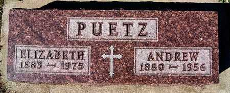 PUETZ, ANDREW - McCook County, South Dakota | ANDREW PUETZ - South Dakota Gravestone Photos