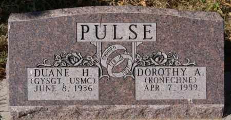 PULSE, DUANE H - McCook County, South Dakota | DUANE H PULSE - South Dakota Gravestone Photos