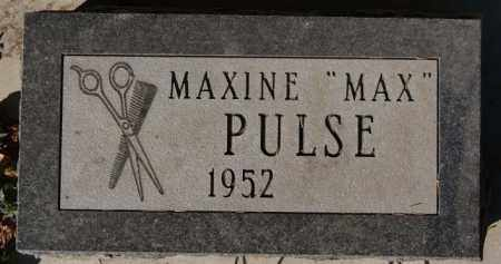 PULSE, MAXINE - McCook County, South Dakota | MAXINE PULSE - South Dakota Gravestone Photos