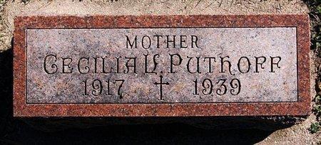 PUTHOFF, CECILIA V - McCook County, South Dakota | CECILIA V PUTHOFF - South Dakota Gravestone Photos