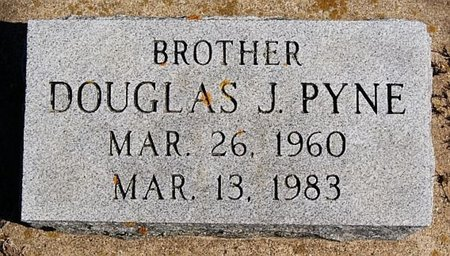 PYNE, DOUGLAS J - McCook County, South Dakota | DOUGLAS J PYNE - South Dakota Gravestone Photos