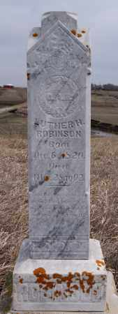 ROBINSON, LUTHER H - McCook County, South Dakota | LUTHER H ROBINSON - South Dakota Gravestone Photos