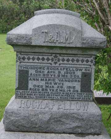 VAN DOREN ROCKAFELLOW, ANN MARIE - McCook County, South Dakota | ANN MARIE VAN DOREN ROCKAFELLOW - South Dakota Gravestone Photos
