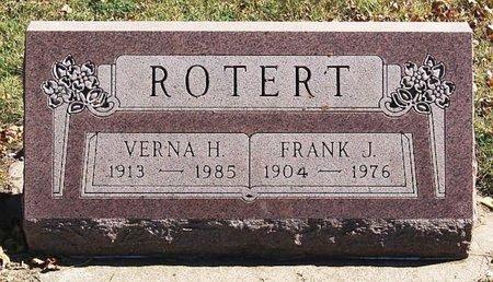 ROTERT, FRANK J - McCook County, South Dakota   FRANK J ROTERT - South Dakota Gravestone Photos