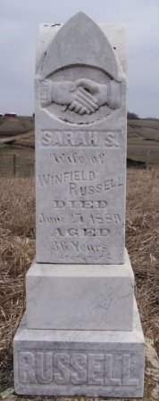 RUSSELL, SARAH S - McCook County, South Dakota | SARAH S RUSSELL - South Dakota Gravestone Photos