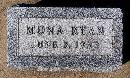 RYAN, MONA - McCook County, South Dakota | MONA RYAN - South Dakota Gravestone Photos