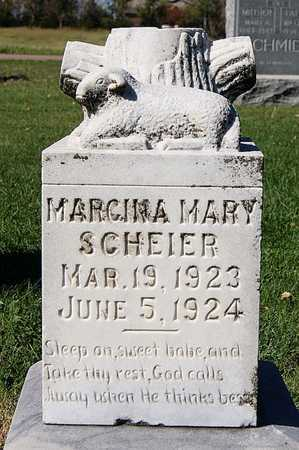 SCHEIER, MARGINA MARY - McCook County, South Dakota | MARGINA MARY SCHEIER - South Dakota Gravestone Photos