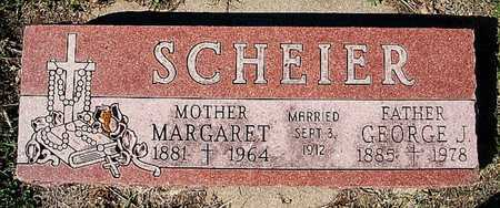 SCHEIER, MARGARET - McCook County, South Dakota | MARGARET SCHEIER - South Dakota Gravestone Photos