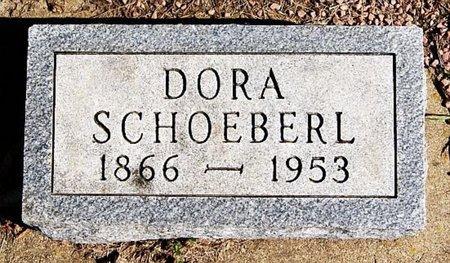 SCHOEBERL, DORA - McCook County, South Dakota   DORA SCHOEBERL - South Dakota Gravestone Photos