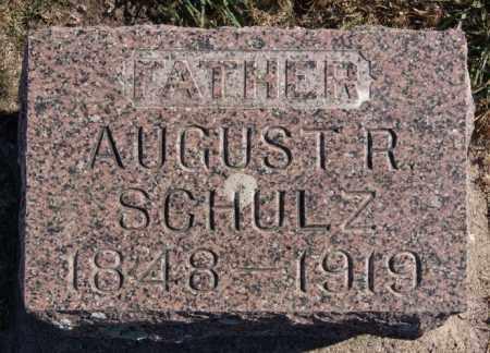 SCHULZ, AUGUST R - McCook County, South Dakota | AUGUST R SCHULZ - South Dakota Gravestone Photos