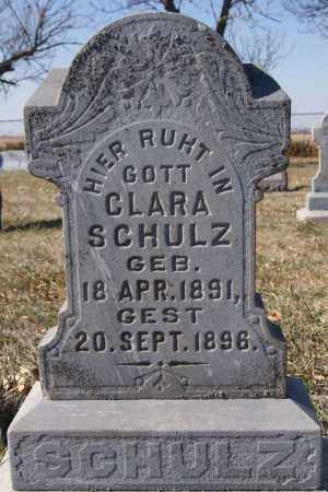 SCHULZ, CLARA - McCook County, South Dakota | CLARA SCHULZ - South Dakota Gravestone Photos