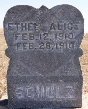 SCHULZ, ETHEL ALICE - McCook County, South Dakota | ETHEL ALICE SCHULZ - South Dakota Gravestone Photos