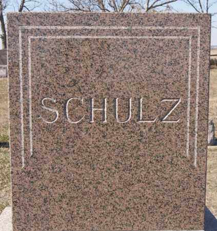 SCHULZ, FAMILY MARKER - McCook County, South Dakota | FAMILY MARKER SCHULZ - South Dakota Gravestone Photos
